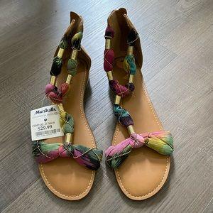 Cynthia Rowley multi color sandals